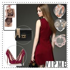"""""""Vipme"""" by amira-1-1 ❤ liked on Polyvore featuring Gianvito Rossi, women's clothing, women, female, woman, misses, juniors and vipme"""