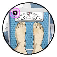Sei kein Klon! Erfahre mehr über den BMI, das persönliche Idealgewicht und die Rolle der Medien beim Thema Selbstwahrnehmung Web Comic, Bmi, Kids Rugs, Perception, Psychics, Kid Friendly Rugs, Nursery Rugs