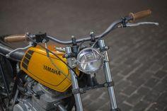 Yamaha XS400 Street Tracker by New Church Moto