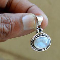 Moonstone Necklace, Moonstone Pendant, Diamond Pendant, Diamond Rings, Metal Clay Jewelry, Pendant Jewelry, Jewelry Necklaces, Anniversary Jewelry, Silver Rings Handmade