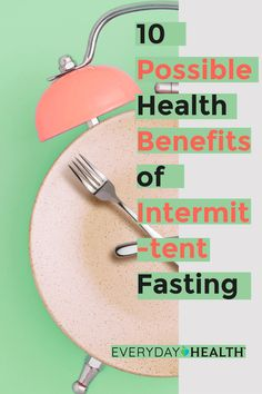 Learn the potential benefits of intermittent fasting.