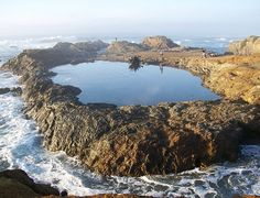 Glass Beach, CA - tide pool