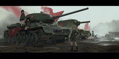 Panzer deine Waffe! Girls und Panzer, анимеMeaning: Tanks your weapon!! - In German