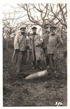 WW1: Unexploded 280mm shell.