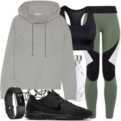 A fashion look from January 2017 featuring James Perse hoodies, Charli Cohen activewear pants and Casall sports bras. Browse and shop related looks.