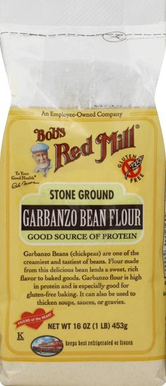 Bobs Red Mill Garbanzo Bean Flour, Stone Ground - 16 oz bag