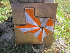 Texas Longhorn String Art by theofficalcraftaddix on Etsy, $49.99