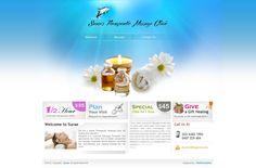 Webfin Studios Design Work - Massage Industry
