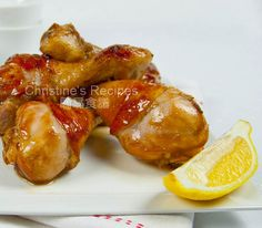 Baked Drumsticks with Soy Sauce and Honey - Trying this tonight, we'll see how it turns out!