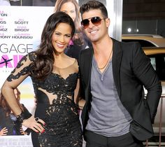 #RobinThicke and #PaulaPatton | 13 Hottest Celebrity Couples 2014