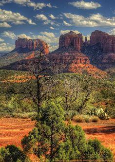 Cathedral Rock near Sedona, Arizona