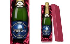 This personalised champagne is the zenith of giving a bottle for Christmas.
