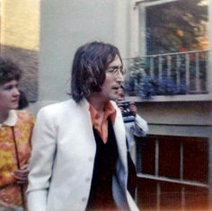 May 1968. A fan shot John without Yoko dates this to prior to the 'White Album'…