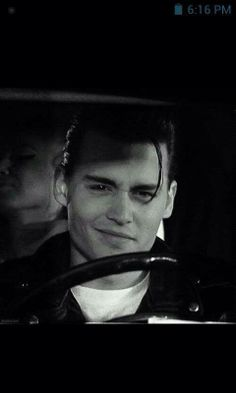 Jhonny Depp on cry-baby