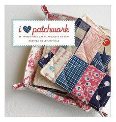 I am not a quilter but I am a sewer and this is a great way to use up scraps (and I have a ton!:)