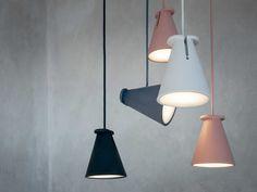 Lampada  in silicone BOLLARD by MENU