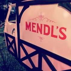 Mendl's delivery on-hand at THE GRAND BUDAPEST HOTEL premiere at the Berlin Film Festival!