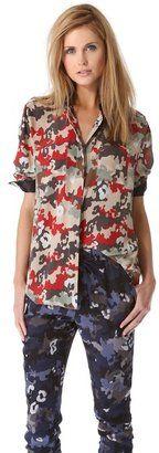 3 1 phillip lim Epaulet Camo Shirt 3.1 Phillip Lim