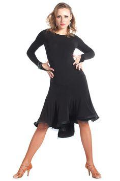 """""""Novella"""" Latin Ballroom Dance Dress"""