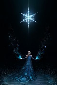 Frozen movie poster by Isabel Westling