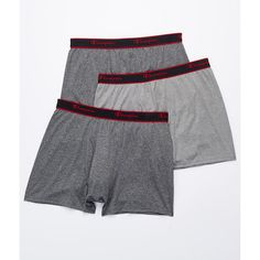 Champion Active Performance Short Leg Boxer Brief 3-Pack ($13) ❤ liked on Polyvore featuring men's fashion, men's clothing, men's underwear, boxer brief, men, underwear, mens boxer briefs, mens underwear boxer briefs and mens short leg boxer briefs