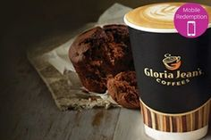 Coffee and Muffin for One ($4), Two ($7.50) or Four People ($14.50) at Gloria Jeans, East Burwood (Up to $35 Value)