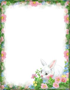 Made by Sophia Delve Design Stationary Printable, Printable Paper, Borders For Paper, Borders And Frames, Ostern Wallpaper, Disney Frames, Easter Backgrounds, Stationery Paper, Note Paper