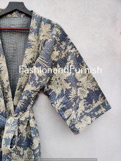 Cotton Kimono, Cotton Fabric, Cotton Bag, Kimono Jacket, Print Jacket, Winter Kimono, Boho Kimono, Floral Kimono, Winter Blankets