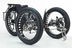 Fat-Bike Trike Made Custom For Expedition To South Pole #fatbike #bicycle