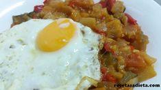 PISTO DE VERDURAS - Recetas a dieta Eggs, Breakfast, Food, Entrees, Healthy Recipes, Dinner, Deserts, Egg, Morning Coffee
