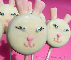 bunny oreo pops tutorial