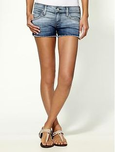 Piperlime...AG Adriano Goldschmied Daisy Shorts. These bad boys are going to Italy with me!