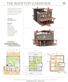 3 Story House Plans With Roof Deck Semmelus Superb Multi
