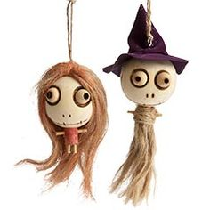 pier 1 halloween ornaments | designer + a contractor: bring out the ghouls....