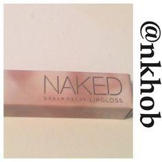 Naked Lip Gloss Naked Lip Gloss by Urban Decay Ultra Nourishing Gloss! Color is Streak BNIB Urban Decay Makeup Lip Balm & Gloss