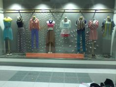 Visual merchandising project! #springtrends2012 #sanctuaryclothing #LuckyPenny