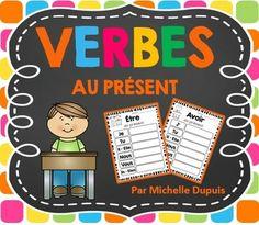 Verbes : La conjugaison des verbes demeure un défi pour plusieurs élèves. C'est pour cette raison qu'il est important de les pratiquer régulièrement à travers le jeu, les écrits, les pages de pratique, le message de matin, etc.