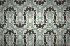 Free art nouveau style wallpaper patterns