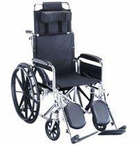 Silla de ruedas pasiva / con reposapiernas / con reposacabezas / reclinable