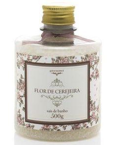 Sais de Banho - Flor de Cerejeira