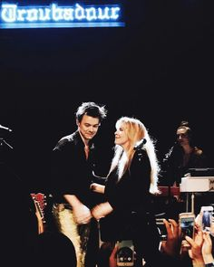 Harry Styles and Stevie Nicks at The Troubadour