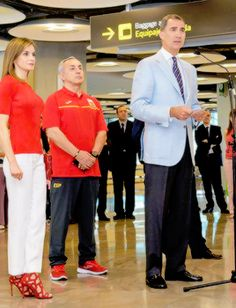 King Felipe and Queen Letizia have gone to the Adolfo Suárez Madrid-Barajas…