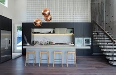 Herne Bay Villa Alteration - Contemporary - Kitchen - Auckland - by Gerrad Hall Architects