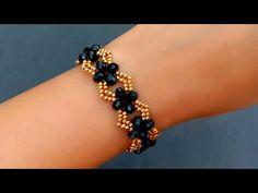 How To Make//Crystal Bracelet//Bracelet Making// Useful & Ea Simple Bracelets, Seed Bead Bracelets, Crystal Bracelets, Crystal Beads, Seed Beads, Diy Bracelet, Crystal Necklace, Beaded Bracelets Tutorial, Bracelets