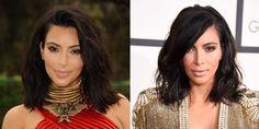 How to Get Kim Kardashian's Sexy New Lob  - ELLE.com