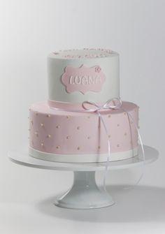 Geburtstagstorte rosa für Mädchen mit Perlen. Birtdaycake for girls, rose, with pearls Girls, Ideas, First Communion, Birthday Cake Toppers, Pearls, Daughters, Maids, Thoughts, Girlfriends