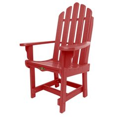 Pawley's Island Essentials Dining Chair with Arms, Patio Furniture