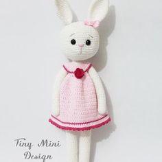 Amigurumi Cracker Girl Bunny Free Pattern- Part-1