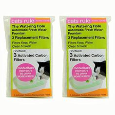 Cats Rule Replacement Filter for Fountain by Cats Rule -- Learn more by visiting the image link.Note:It is affiliate link to Amazon.