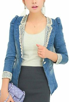 Denim Jacket Fashion Short Jacket Vangood,http://www.amazon.com/dp/B00FXTPWQ0/ref=cm_sw_r_pi_dp_Xsqatb1AP8DSY49A